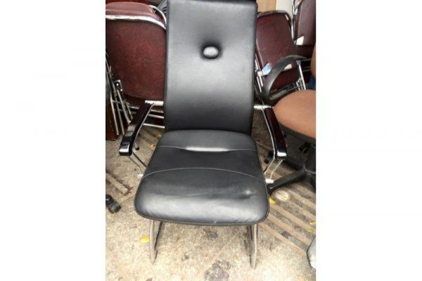 Bán ghế chân quỳ inox cũ tay gỗ