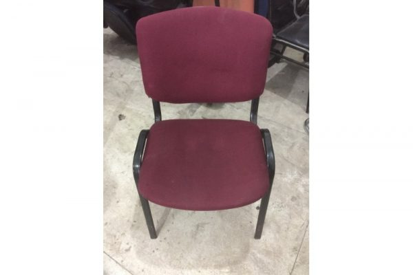Thanh lý ghế chân quỳ cũ màu đỏ 01
