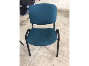 Thanh lý ghế chân quỳ nệm xanh
