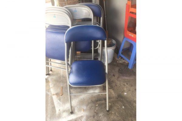 Thanh lý ghế xếp hòa phát chân inox giá rẻ