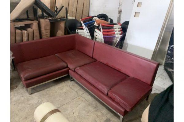 Thanh lý Bộ sofa góc L bọc simili cao cấp
