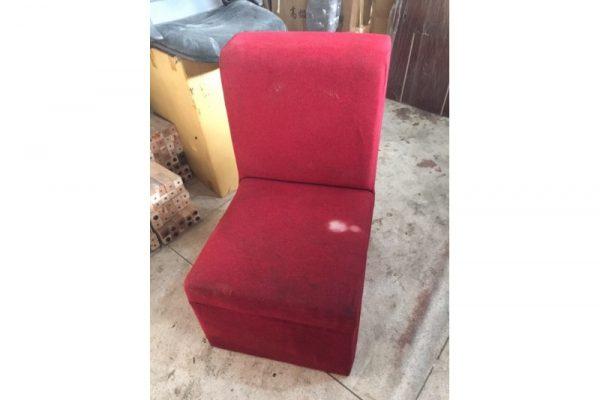 Thanh lý Ghế sofa đơn bọc vải cũ giá rẻ