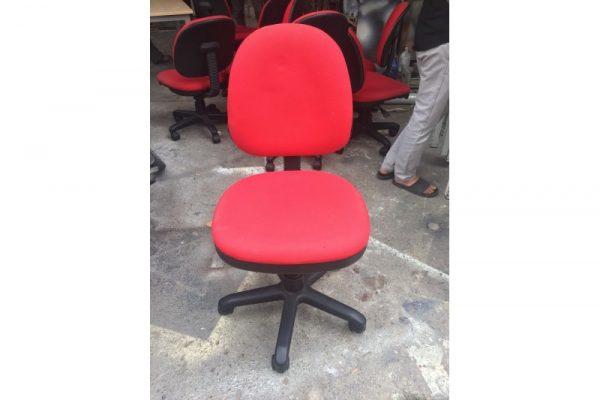 Thanh lý Ghế xoay văn phòng đỏ cũ giá rẻ - GVPC81