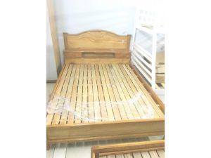 Thanh lý giường gỗ căm xe 1m6 giá rẻ