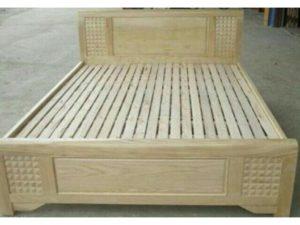 Thanh lý giường gỗ sồi như mới