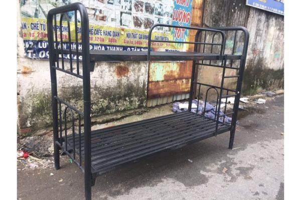 Thanh lý Giường tầng sắt 80cmx2m cũ giá rẻ