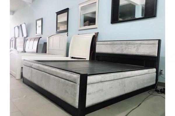 Thanh lý giường KING 1m6 x 2m màu xám