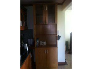 Thanh lý tủ bếp treo tường cũ màu nâu