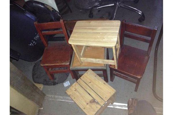 Thanh lý lô ghế gỗ cafe cũ M12