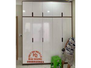 Đóng tủ quần áo theo yêu cầu tại tphcm