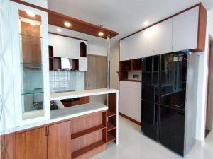 Tủ bếp đóng sẵn giá rẻ cho căn hộ cao cấp mẫu 05