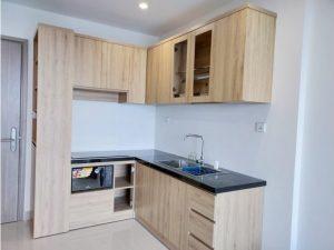 Tủ bếp đóng sẵn giá rẻ cho căn hộ cao cấp mẫu 06