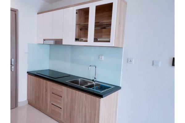 Tủ bếp đóng sẵn giá rẻ cho căn hộ cao cấp mẫu 08