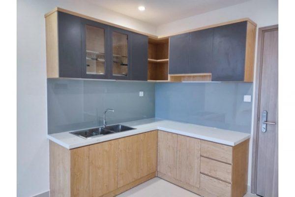 Tủ bếp đóng sẵn giá rẻ cho căn hộ cao cấp mẫu 11