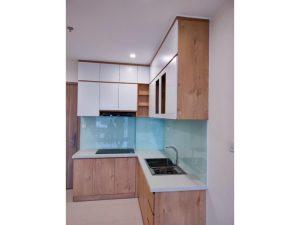 Tủ bếp đóng sẵn giá rẻ cho căn hộ cao cấp mẫu 12