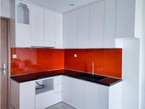 Tủ bếp đóng sẵn giá rẻ cho căn hộ cao cấp mẫu 14