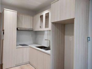 Tủ bếp đóng sẵn giá rẻ cho căn hộ cao cấp mẫu 15