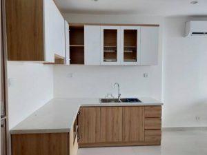 Tủ bếp đóng sẵn giá rẻ cho căn hộ cao cấp mẫu 16