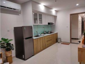 Tủ bếp đóng sẵn giá rẻ cho căn hộ cao cấp mẫu 18