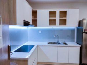 Tủ bếp đóng sẵn giá rẻ cho căn hộ cao cấp mẫu 19