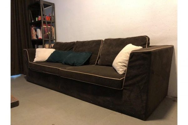 Băng Sofa Vải Cũ Dài 2m4 Màu Nâu