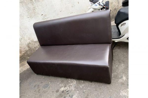 Thanh lý băng sofa đôi màu đen cũ giá rẻ