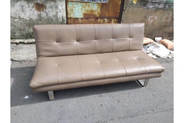 Thanh lý Sofa bed 1m8 bọc simili cũ giá rẻ