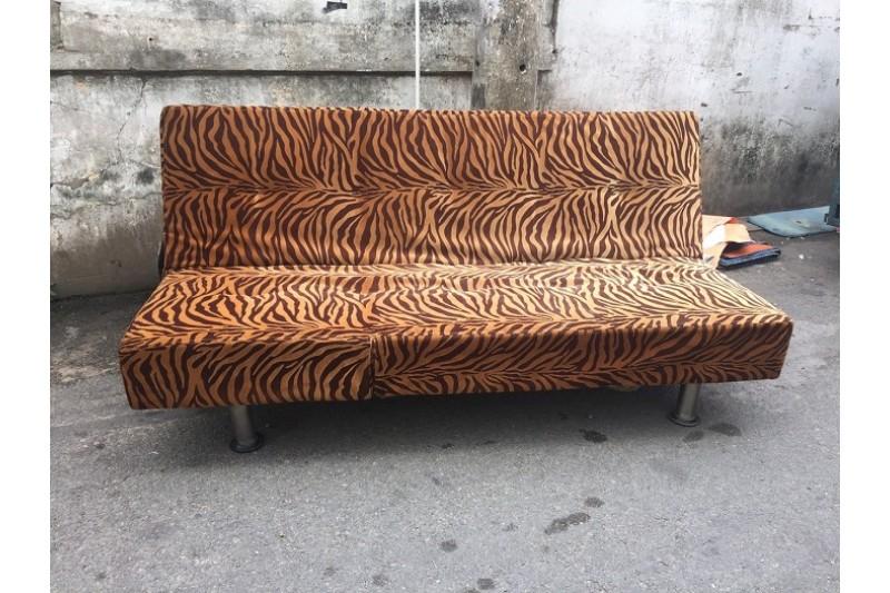 Thanh lý Sofa giường 1m9 bọc vải chân sắt giá rẻ