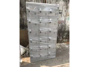 Tủ locker sắt 18 ngăn hàng mới M15