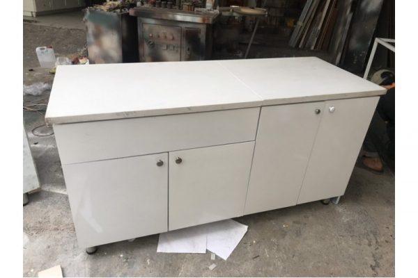 Thanh lý Tủ bếp 1.58m màu trắng cũ tồn kho giá rẻ