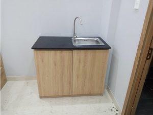 Chuyên sản xuất tủ bếp cao cấp giá rẻ cho căn hộ