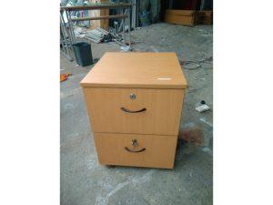 Thanh lý Tủ cabin cũ 3 ngăn màu nâu giá rẻ