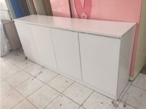 Thanh lý Tủ bếp 4 cánh màu trắng mới 90% giá rẻ