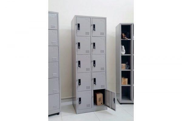Thanh lý Tủ locker sắt 10 ngăn mới giá rẻ M19