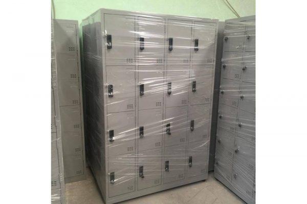 Thanh lý Tủ locker sắt 16 ngăn mới giá rẻ M20