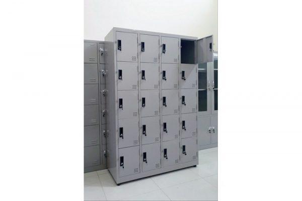 Thanh lý Tủ locker sắt 20 ngăn mới giá rẻ M18
