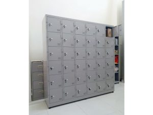 Thanh lý Tủ locker sắt 36 ngăn mới giá rẻ M21