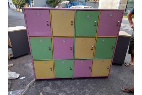 Thanh lý Tủ locker 12 ngăn cũ giá rẻ