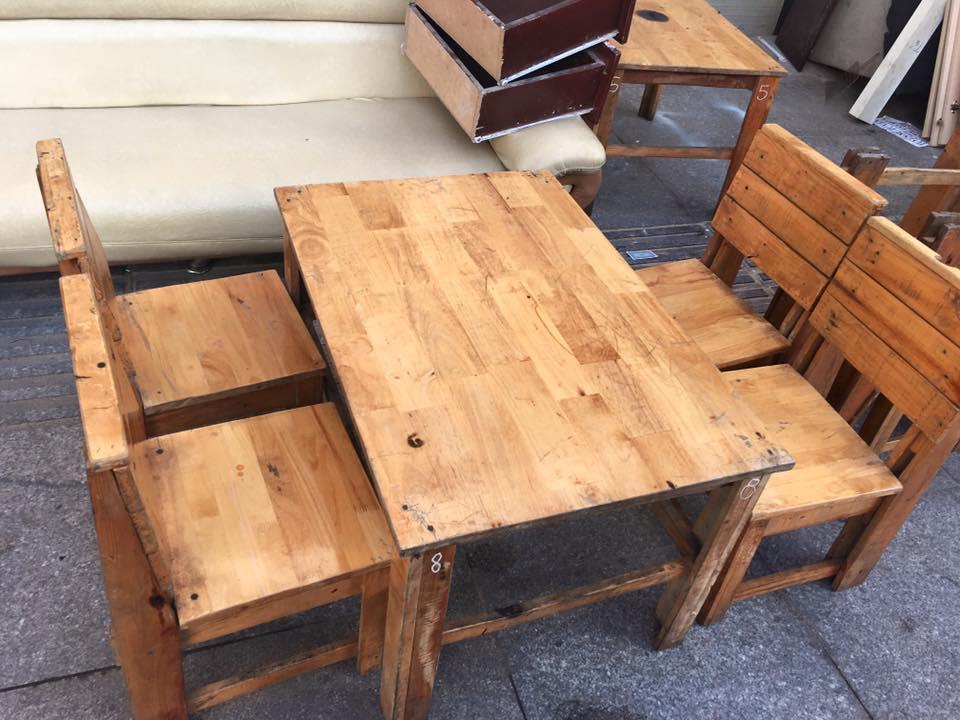 Địa chỉ thu mua bàn ghế cũ