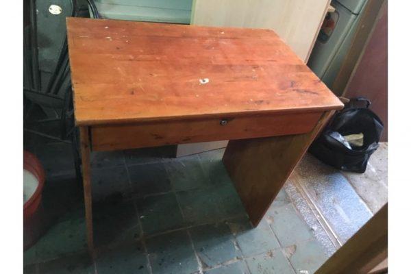 thanh lý bàn làm việc gỗ dài 80cm
