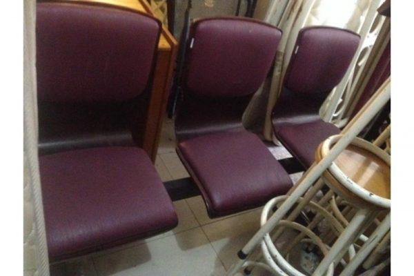 Thanh lý ghế băng chờ cũ màu nâu