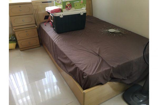 Thanh lý giường gỗ MDF 1m4