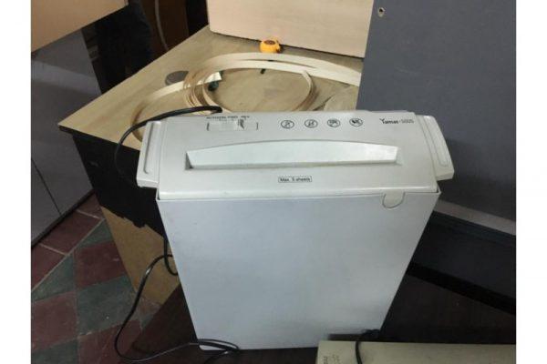 Thanh lý máy hủy giấy cũ 02