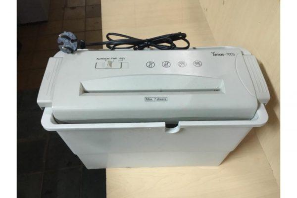 Thanh lý máy hủy giấy cũ 01