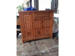 Thanh lý tủ dép gỗ 3 cánh xuất khẩu