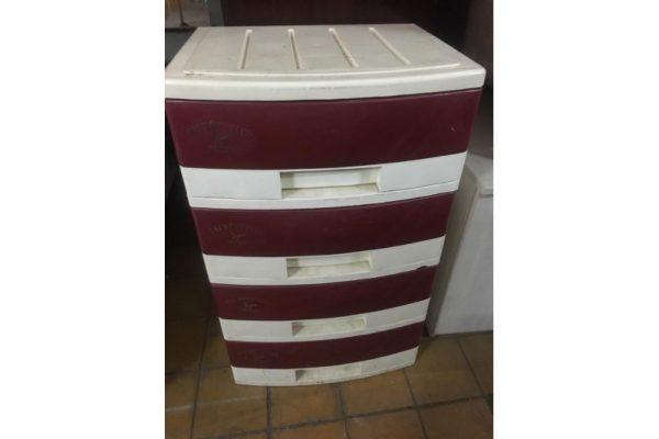 Thanh lý tủ nhựa 4 ngăn cũ TN5