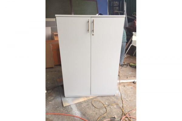 Tủ hồ sơ cũ 1m2x80cm màu trắng giá rẻ