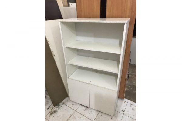 Tủ hồ sơ cũ màu trắng 1m2x70cm tồn kho giá rẻ