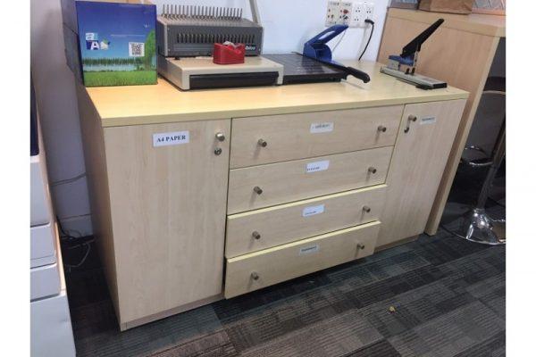 Tủ hồ sơ cũ 1m4x60cm kiểu đẹp giá rẻ