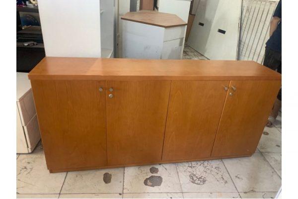 Thanh lý Tủ hồ sơ thấp 4 cánh cũ tồn kho giá rẻ